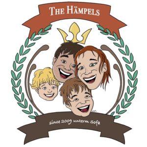 The Hämpels: Grafik der Familie The Hämpels
