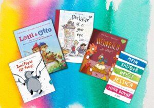 Kinderbücher zum Pride Month