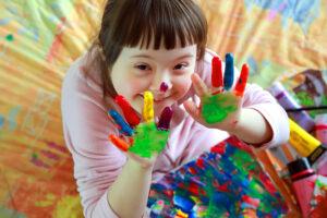 Seltene Krankheiten: Kind mit Trisomie 21