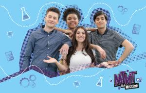 MINT auf Mission: Gruppe Jugendlicher