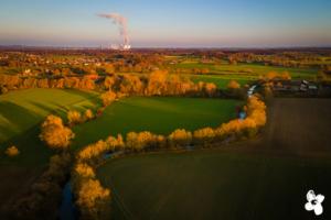 Luftbildaufnahme Hamm